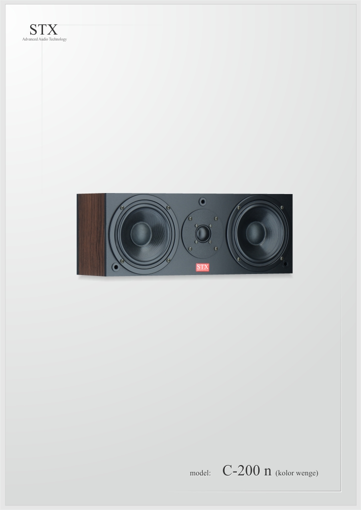 loudspeaker STX C-200 n