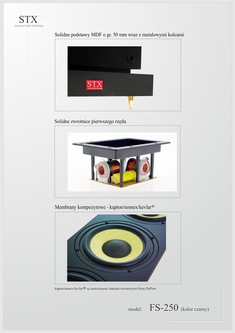loudspeaker STX FS-250