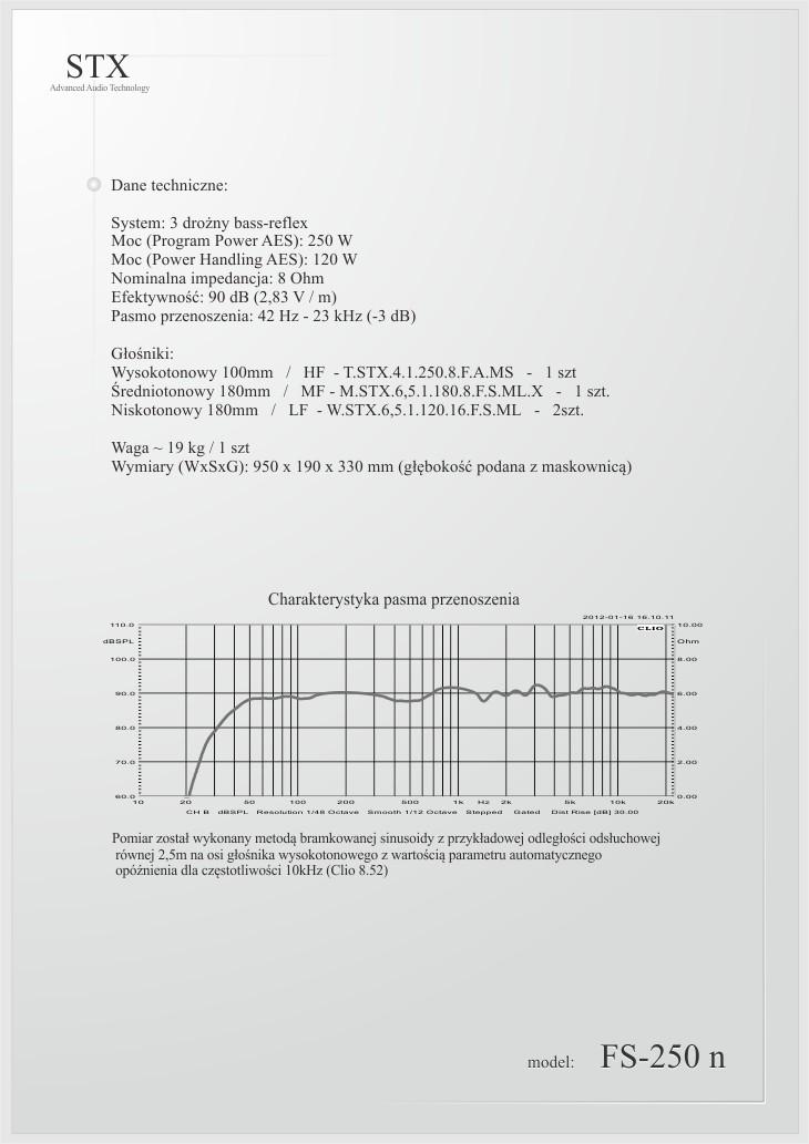 STX FS-250 n
