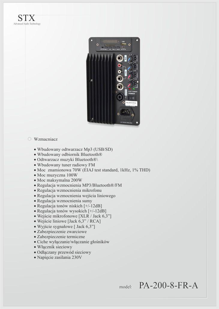 STX PA-200-8-FR-A