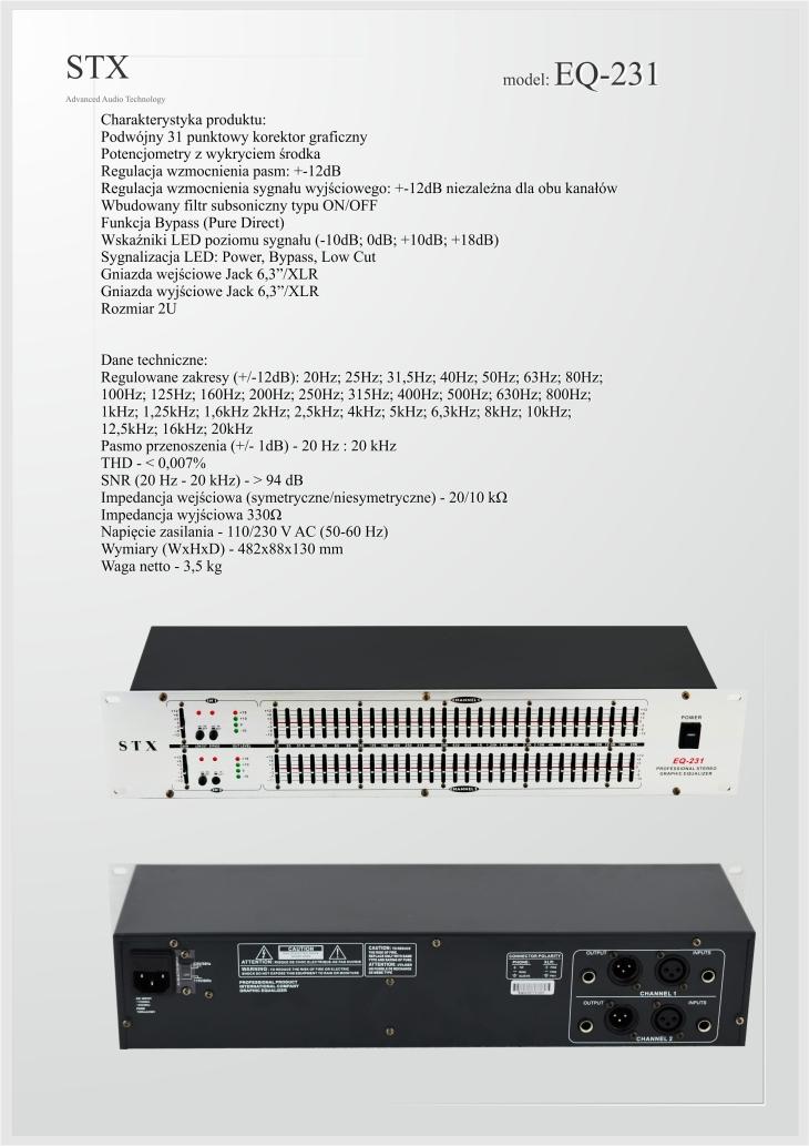 EQ-231 STX