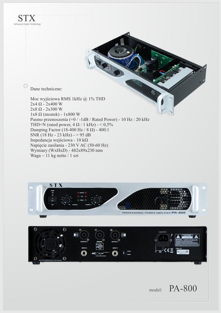 STX-PA-800