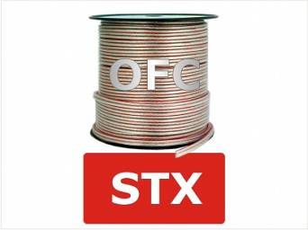 OFC Speaker cable 2x1,0mm^2