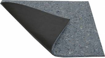 Bituminous felt 500x500mm damping material with glue