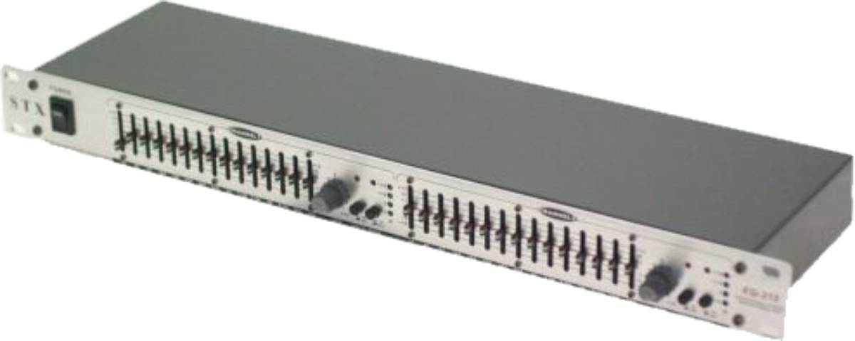 STX EQ-215 2 x 15 - Band stereo graphic equalizer