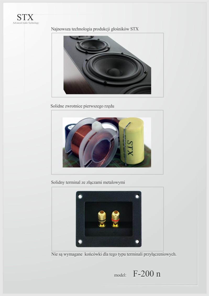 loudspeaker STX F-200 n