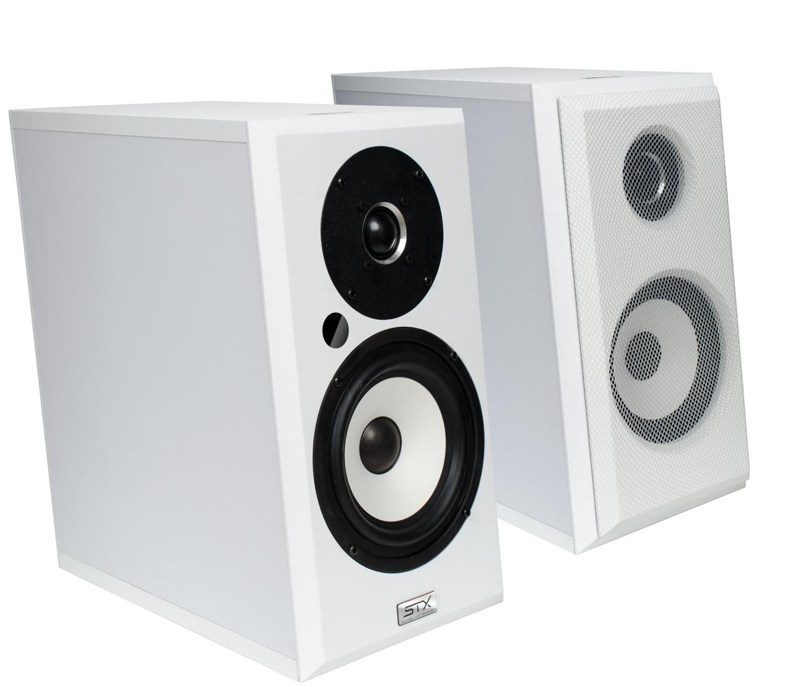 STX Electrino M-100 biały/biały front