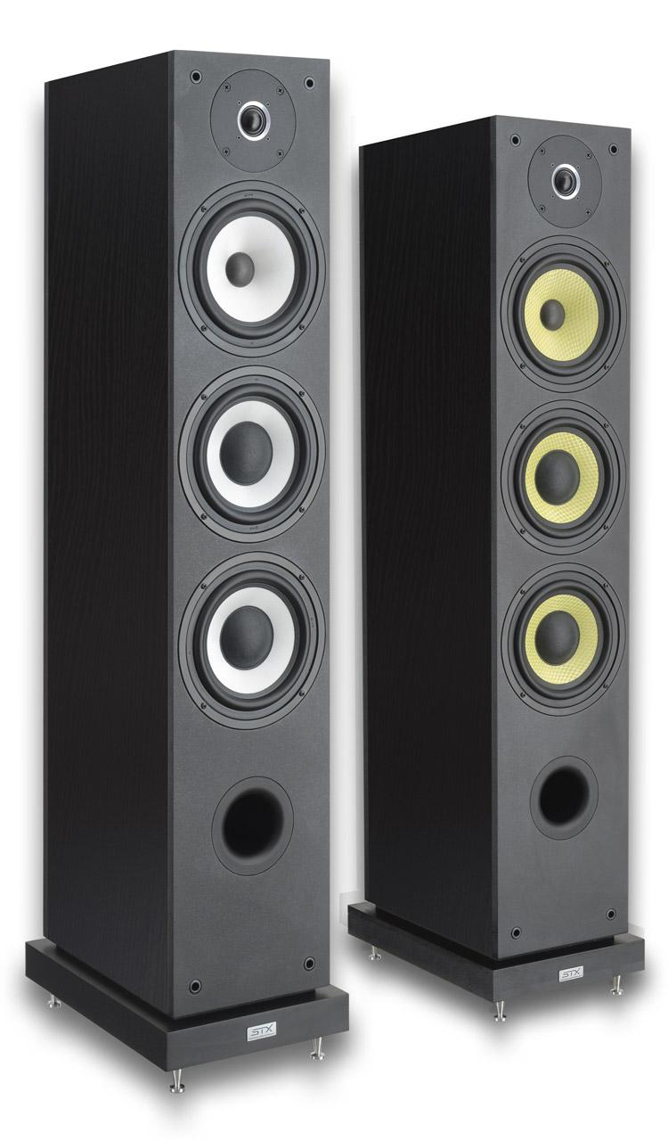 STX FS-250 czarne / białe lub żółte membrany