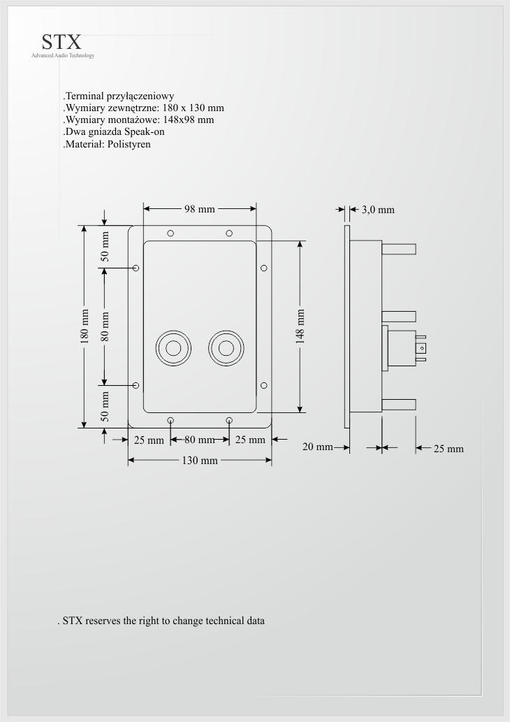 Zwrotnica 2xW.30.500.8.MC + D.12.800.8.T